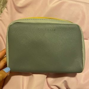 Cole Haan toiletry cosmetic bag American Airlines